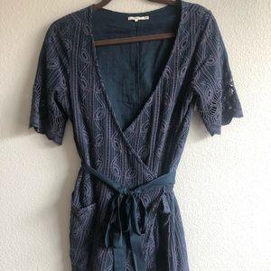 Tularosa Rocky Lace Wrap Dress